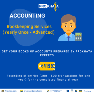 Bookkeeping Services (Yearly Once - Advanced)
