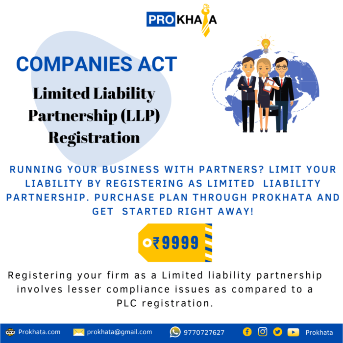 Limited Liability Partnership (LLP) Registration COMPANIES ACT
