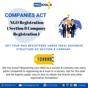 NGO Registration ( Section 8 Company Registration )