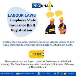 Employee State Insurance (ESI) Registration