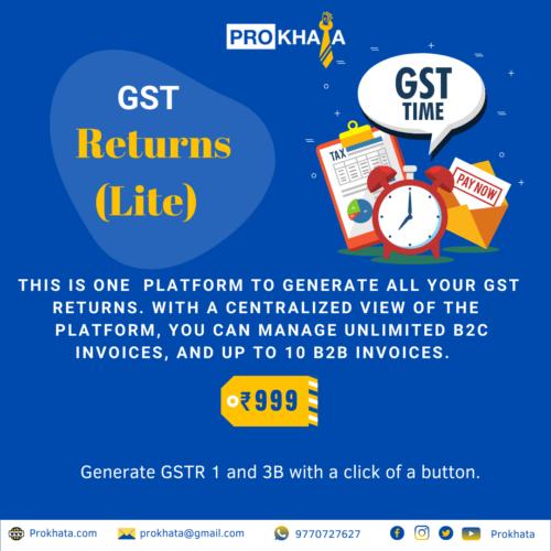 GST Returns (Lite)