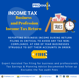 BUSINESS AND PROFESSION INCOME TAX RETURN