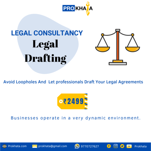 Legal Drafting LEGAL CONSULTANCY