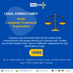 MSME Compliance Trademark Registration LEGAL CONSULTANCY
