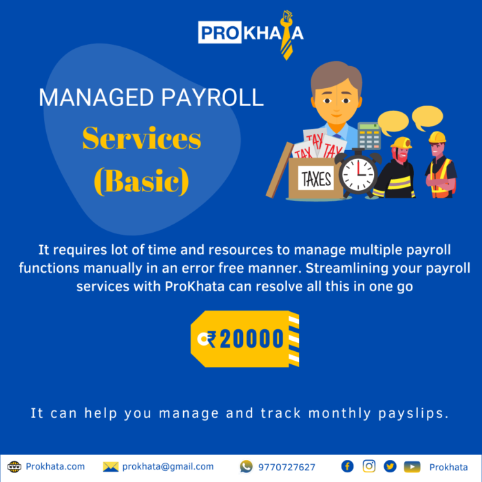 Managed Payroll Services (Basic)