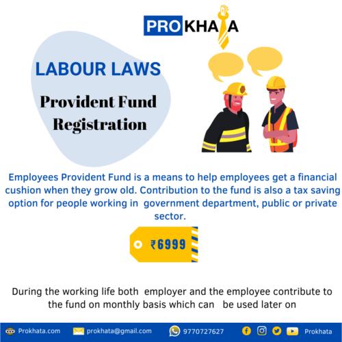 Provident Fund Registration
